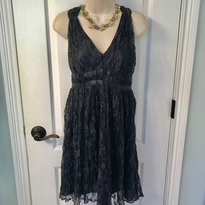 The Limited Gorgeous Lace Gunmetal Gray Dress! 🎉
